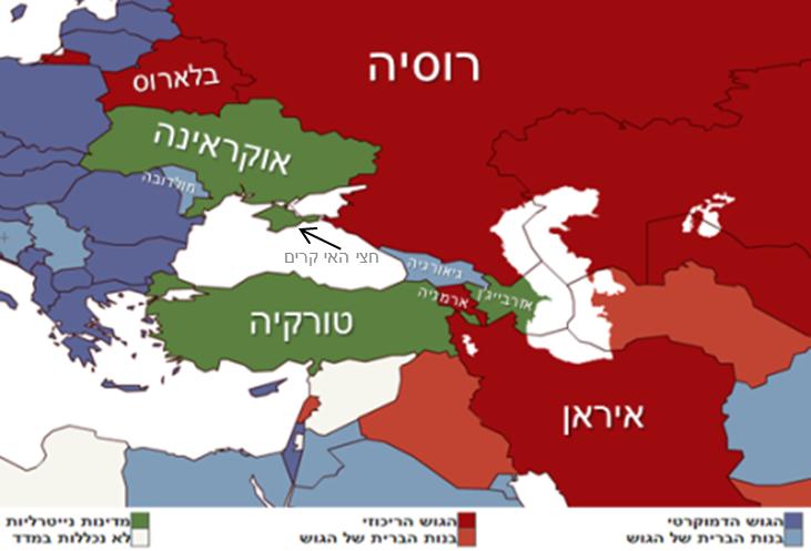 הרפובליקות הסובייטיות לשעבר במזרח אירופה – החיץ האחרון בין רוסיה לאיחוד האירופי