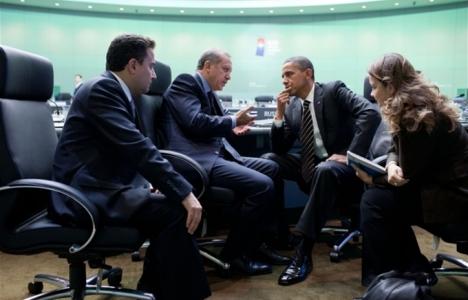 ארדואן עם אובאמה – זכה לניצחון משכנע בבחירות המקומיות. צילום: הבית הלבן