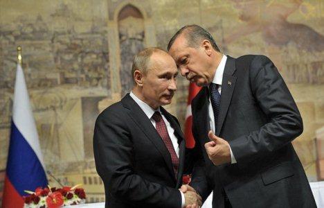 ארדואן עם פוטין – היריבות ההיסטוריות מקיימות קשרים כלכליים הדוקים. צילום: הקרמלין